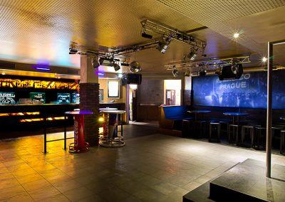 Redesign klubu El Magico v Praze
