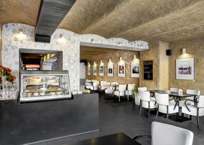 Interiér Cafebaru N7 v Brušperku