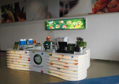 Redesign prodejních stánků Tapitea