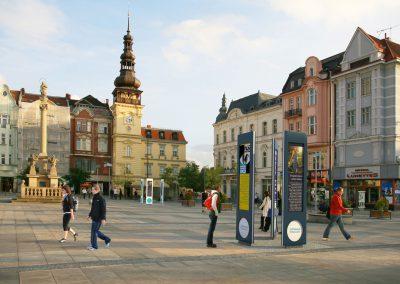 Info tabule pro město Ostrava
