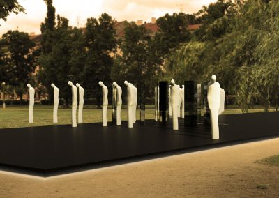 Soutěžní návrh památníku obětem Holokaustu v Brně