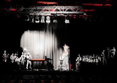 Stage pro vánoční turné Petra Bendeho