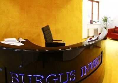 Sídlo firmy Burgus Invest
