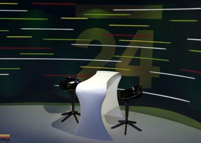 Televizní studio zpráv