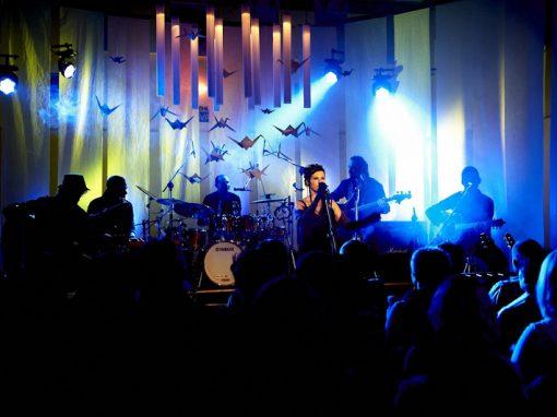 Koncert kapely Filip M. v českém Abbey Road