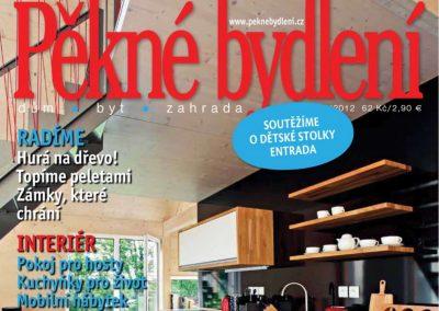 Článek v časopisu Pěkné bydlení